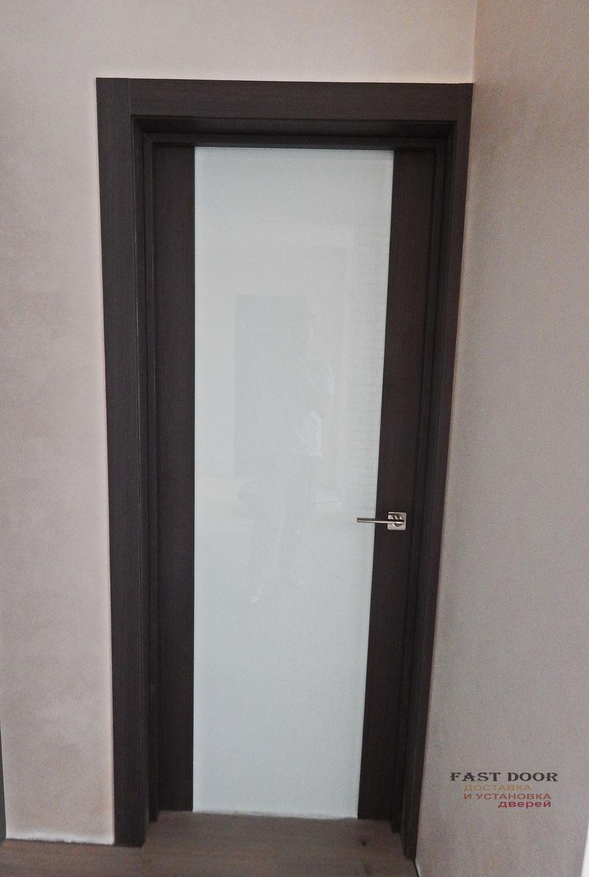 Установка межкомнатных мдф дверей