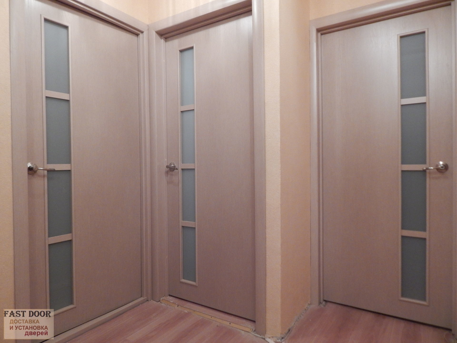 входная дверь с мдф беленый дуб