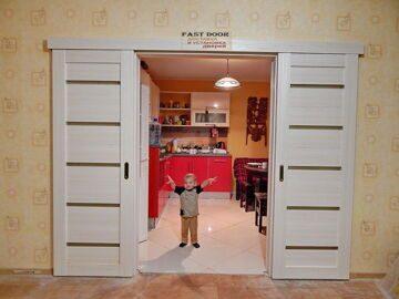 Раздвижные двери фото (23)