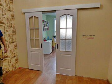 Раздвижные двери фото (1)