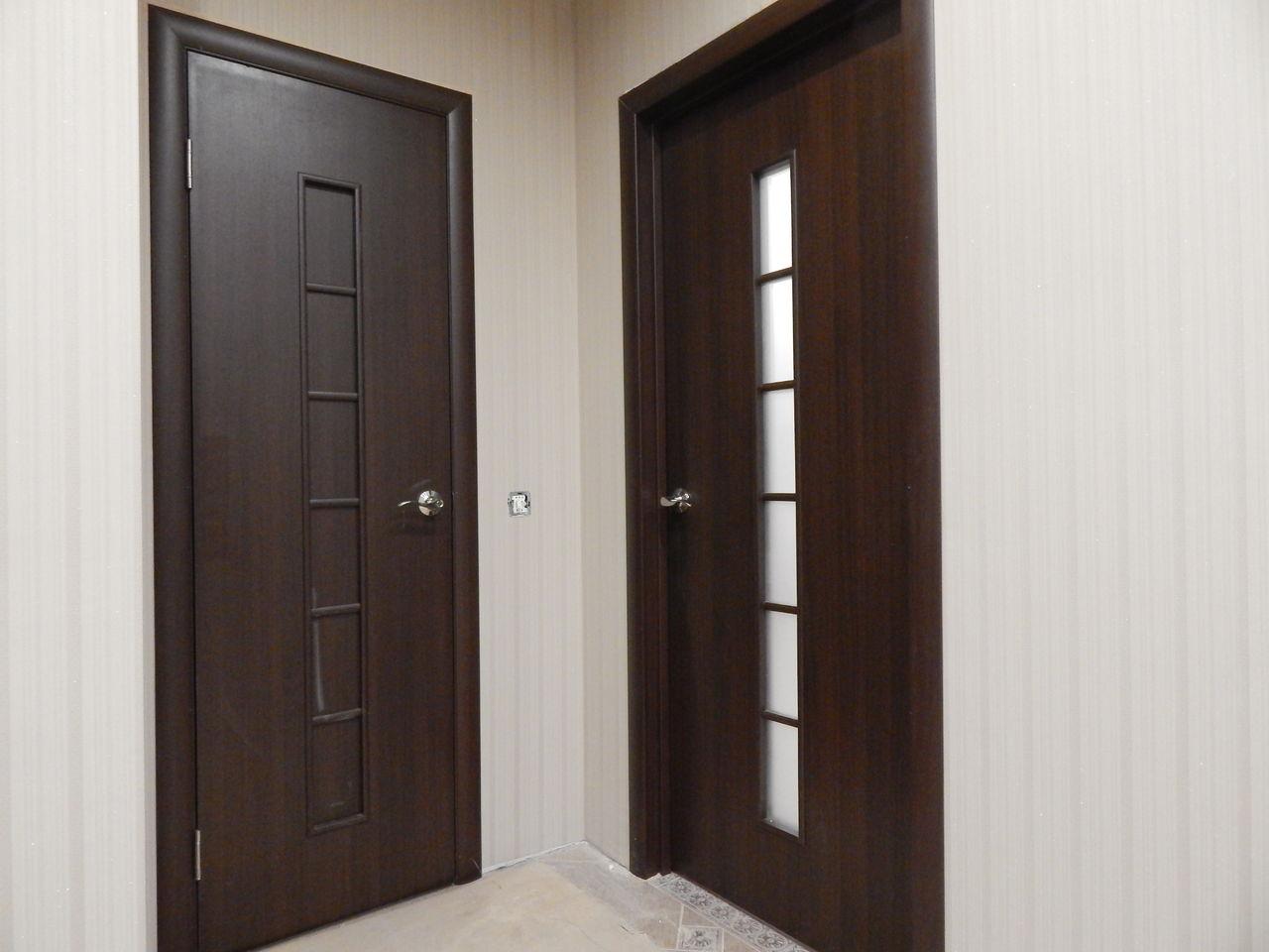 Двери межкомнатные цвета венге